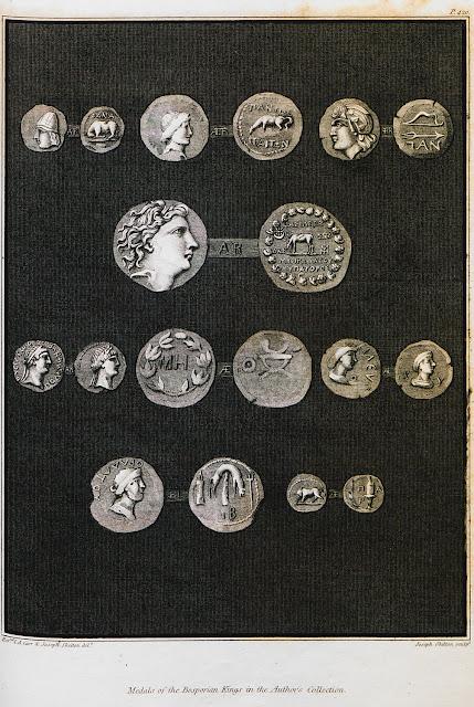Νομίσματα του βασιλείου του Κιμμερίου Βοσπόρου (νότιες και ανατολικές ακτές της Αζοφικής Θάλασσας)