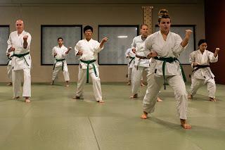 Karate students | Martial arts organization