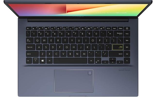 ASUS VivoBook 14 X413JA-EB470: portátil ultrabook Core i5 con disco SSD, teclado en español y pantalla Full HD