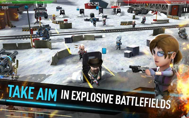 WarFriends v4.2.1 MOD, Unlimited Ammo/DogTags - Game bắn súng cho điện thoại