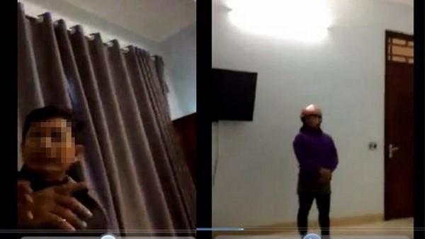 Lộ clip nghi Chủ tịch xã vào nhà nghỉ, ôm ấp nữ cán bộ ở Thanh Hóa