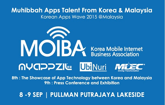 Korean Apps Wave 2015 Malaysia, Korean Apps Wave, MOIBA, My Appszil Asia, mdec, Top Korean Apps, Muhibbah Apps Talent 2015 Malaysia