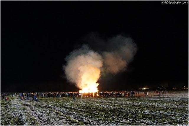 Old Newbury Bonfire 2018: Hogueras Americanas