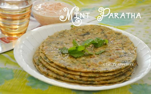 PUDINA PARATHA RECIPE /MINT PARATHA / QUICK DINNER RECIPES