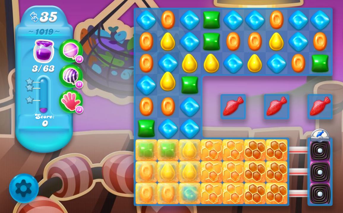Candy Crush Soda Saga 1019