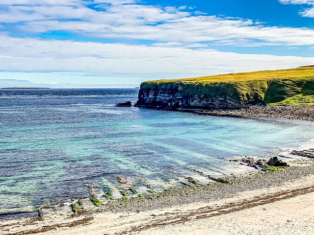 John O'Groats is Inspiring, Sannick Bay near Duncansby  Head by Mandy Charlton, Photographer, Blogger