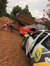 Duas pessoas são presas pela PM de Roncador por receptação e embriaguez ao volante