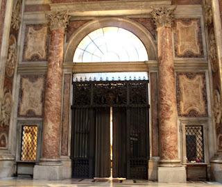 Cancello della Cappella del SS.Sacramento