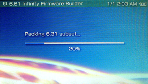 Custom Firmware 6.61 Permanent PSP 3000