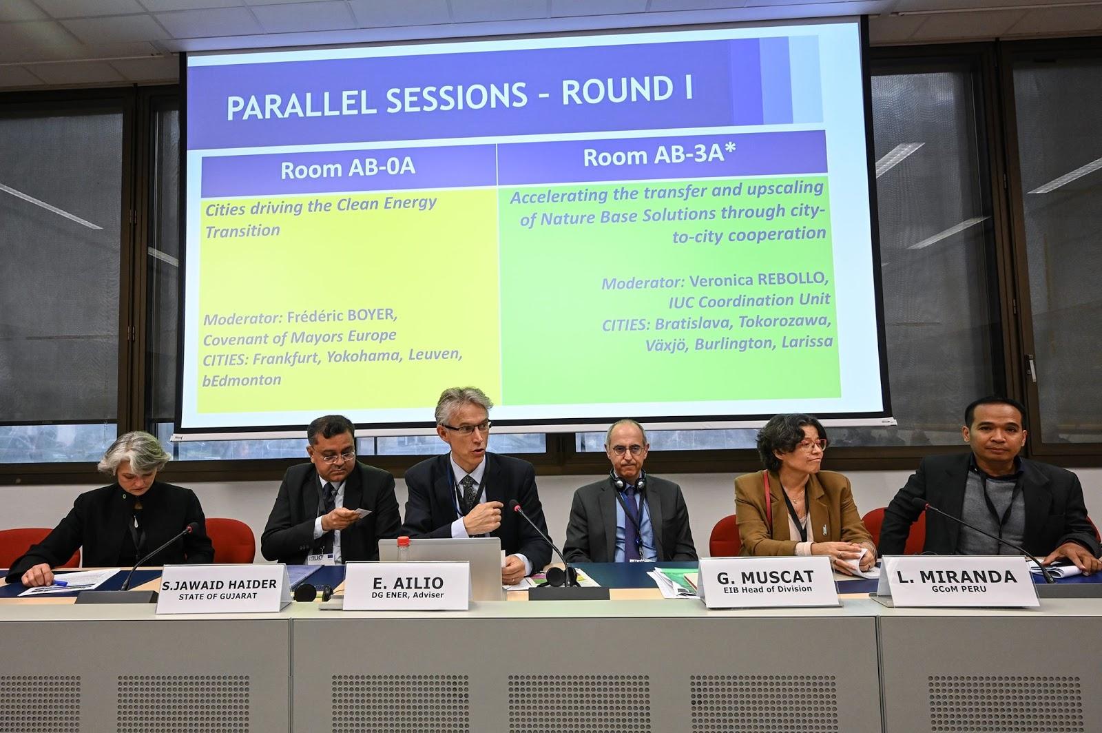 Παρουσίαση της συνεργασίας Λάρισας – Μιραφλόρες σε Διεθνείς Συναντήσεις