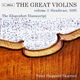 Solo works from The Klagenfurt Manuscript; Peter Sheppard Skaerved; Athene