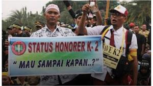 Honorer K2 Akan Turun Demo Minta Kejelasan Nasib PPPK