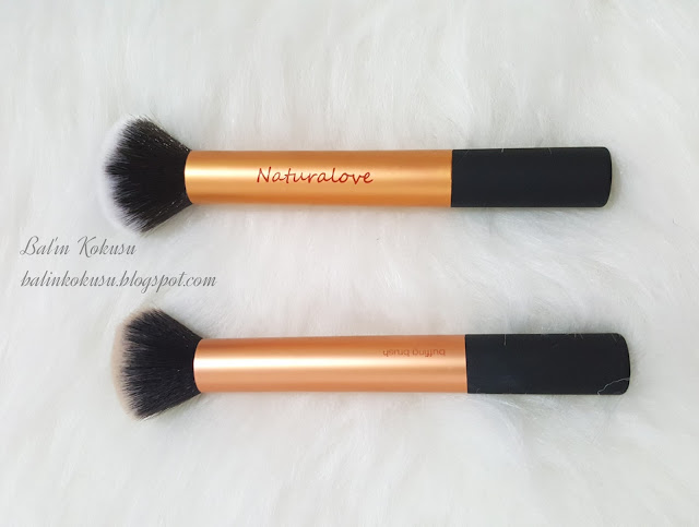 Real techniques naturalove dupes