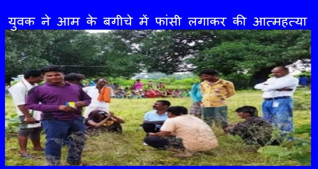 Youth Commits Suicide By Hanging In Mango Orchard Katni Madhya Pradesh News