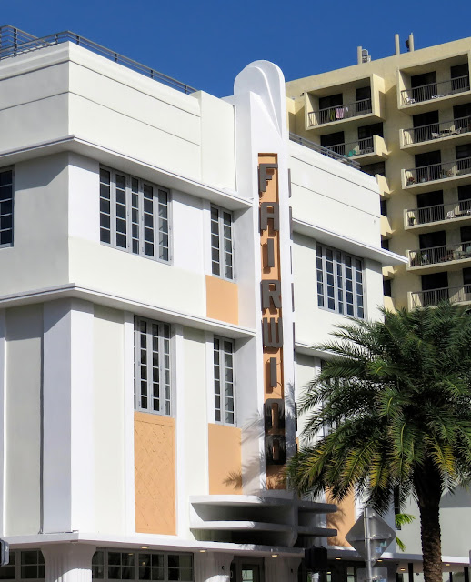 Renovated Art Deco Building, The Fairwind, in the Miami South Beach Art Deco Historic District