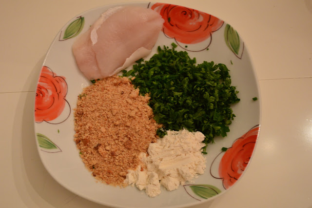 Ingredients for Herbal-Breaded European Perch