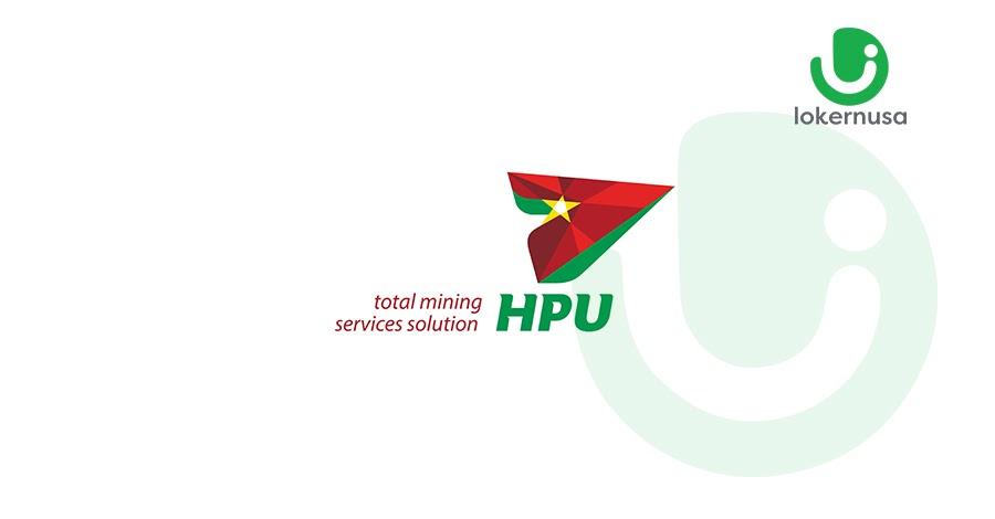 Lowongan kerja tambang terbaru kali ini berasal dari perusahaan PT Harmoni Panca Utama (HPU).