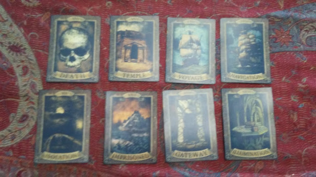 tarot cards the room old sins the great khan