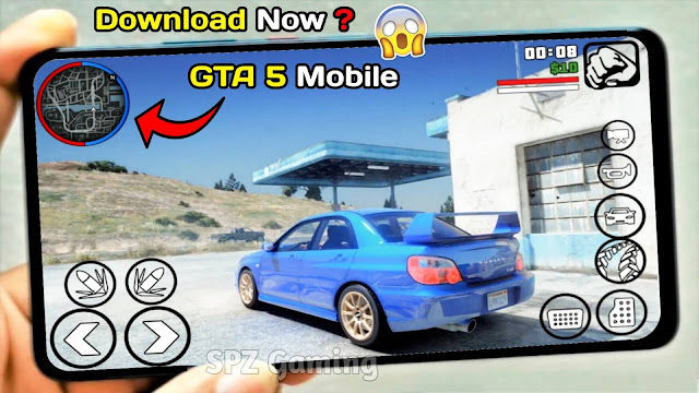 Download GTA 5 Mobile 400Mb Apk+Data (MediaFire) Android Best Graphics - GTA V Android