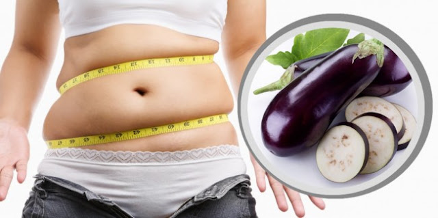 How To Get Rid Of Abdominal Fat With Eggplant Water - It Is Affordable Recipe...!