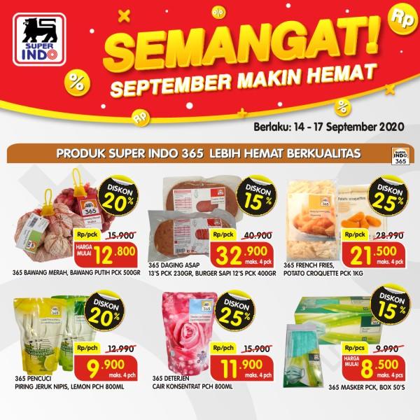Superindo Promo SEMANGAT Awal Pekan 14 - 17 September 2020