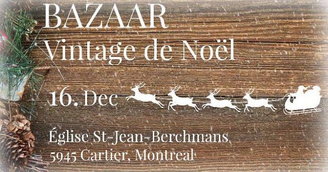 Le Bazar vintage de Noël