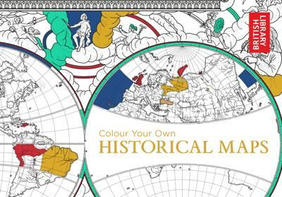 Colouring with prue 12 must see new books for november colour your own historical maps explore the cartographic treasures of the british librarys extensive map archive and add your own colour gumiabroncs Images