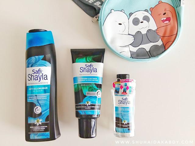 Tips Penjagaan Rambut Berkelemumur Dengan Safi Shayla