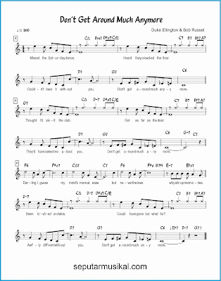 don't get around much anymore lagu jazz standar