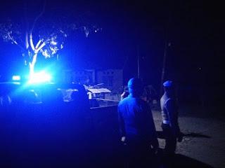 Patroli Blue Light, Rutin Dilaksanakan Personil Polsek Malua Polres Enrekang