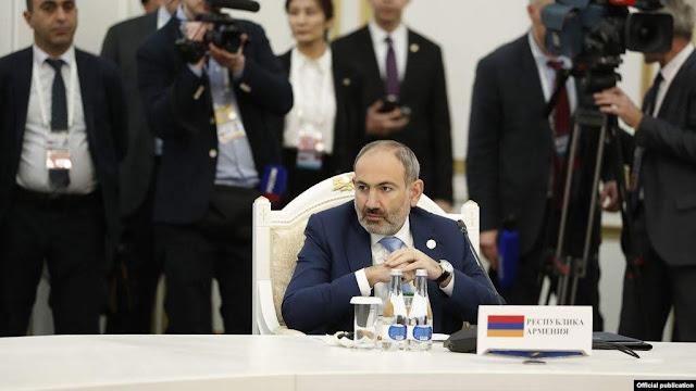Pashinyan: OTSC no vendan armas a Azerbaiyán