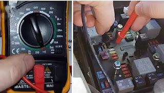 cara mengetahui sekring mobil rusak atau sekring mobil bagus