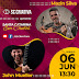 John Mueller e Mazin Silva se apresentam em live show do SC Criativa, neste sábado (06)