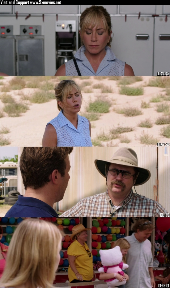 We are The Millers 2013 Extended Dual Audio Hindi 480p BluRay 350mb