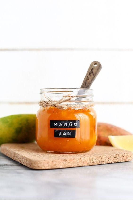 Easy Homemade Mango Jam