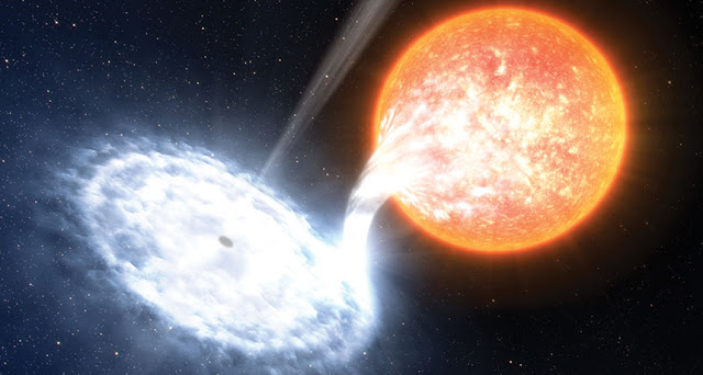 Astronomers Have Caught universal Relativity in Action around Black Hole