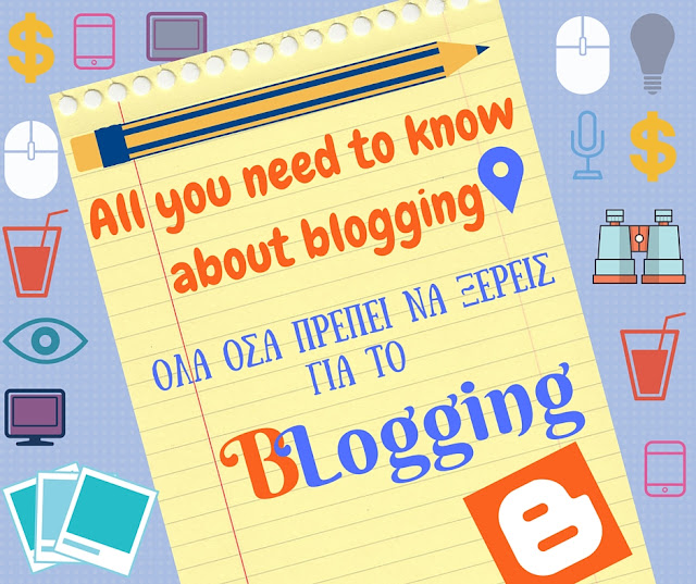 All you need to know about blogging