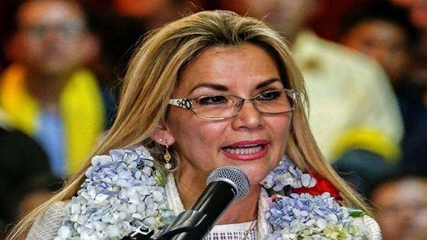 Jeanine Áñez anuncia su candidatura a presidencia de Bolivia