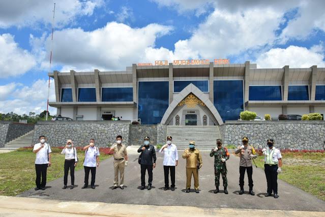 Menhub Tinjau Bandara Baru di Muara Teweh. Paling Representatif di DAS Barito