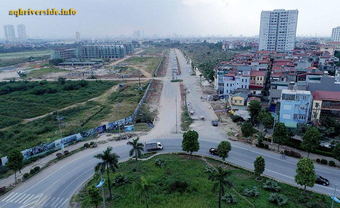 Đường 2.700 tỷ tại Khai Sơn City.