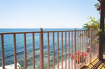 balcón vistas al mar