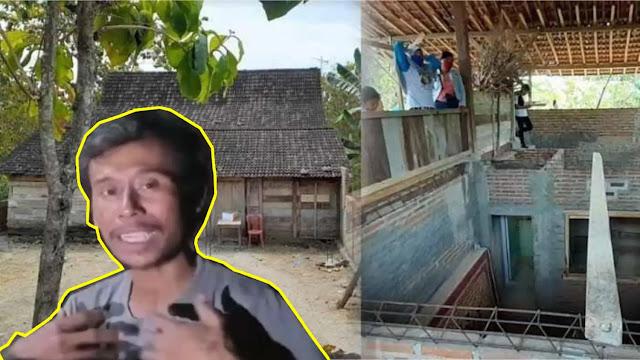 Viral di Ngawi Rumah Dipindahkan Jin dalam Waktu Semalam