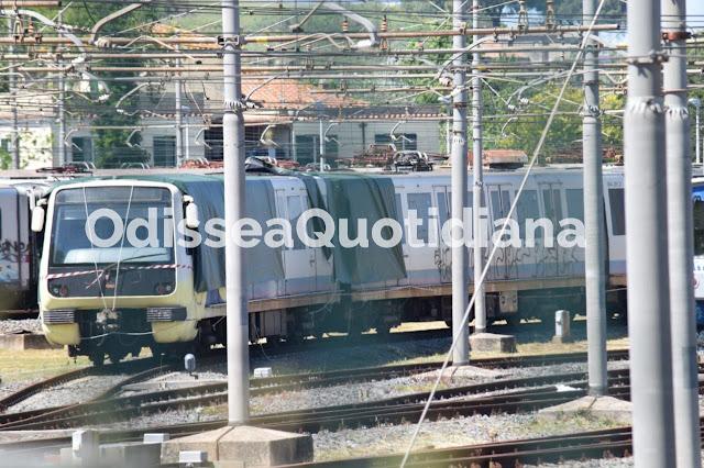 Un treno in meno per la Roma-Lido