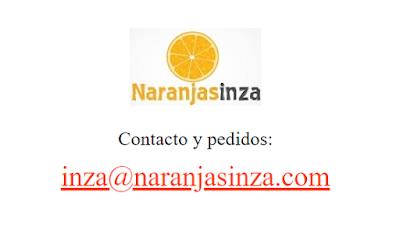 Naranjas Inza