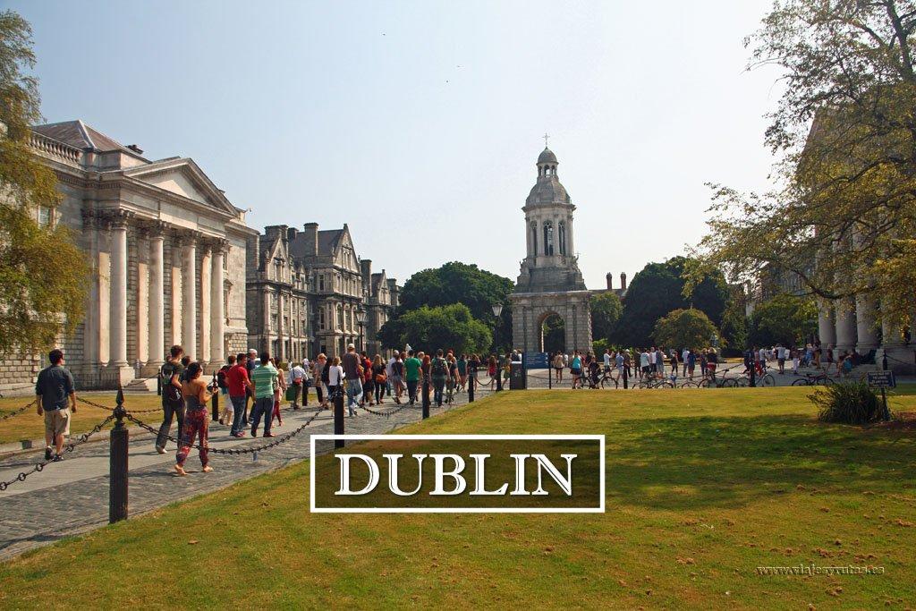 Qué ver en Dublín en tres días. (Parte I)
