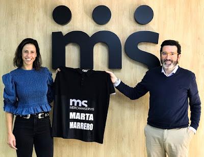 Merchanservis, nuevo patrocinador de la nº 1 Marta Marrero.