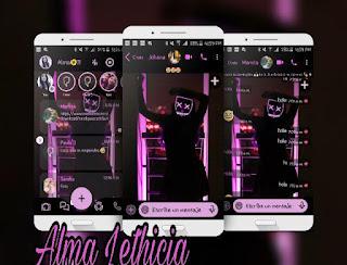 Anonymous Theme For YOWhatsApp & Fouad WhatsApp By Alma Lethicia