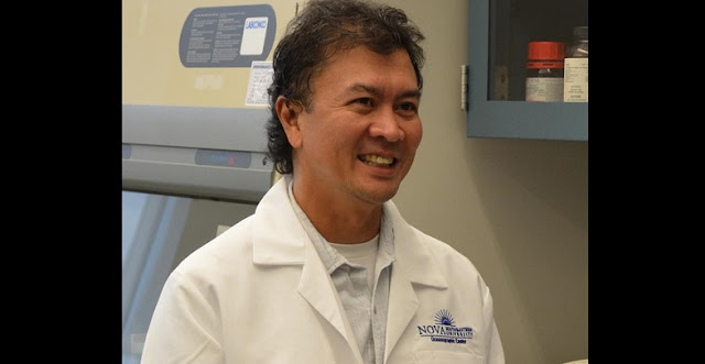 Pictured here is Dr. Jose Lopez from Nova Southeastern University. Credit: Nova Southeastern University