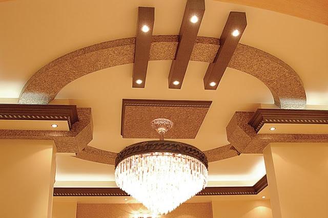 Plafond suspendu lumineuse
