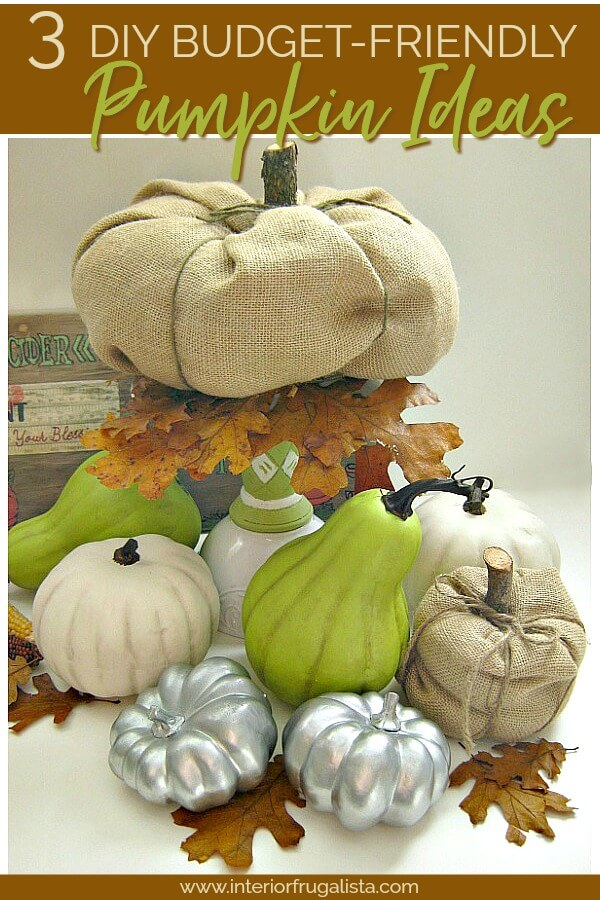 Three DIY Fall Pumpkin Ideas